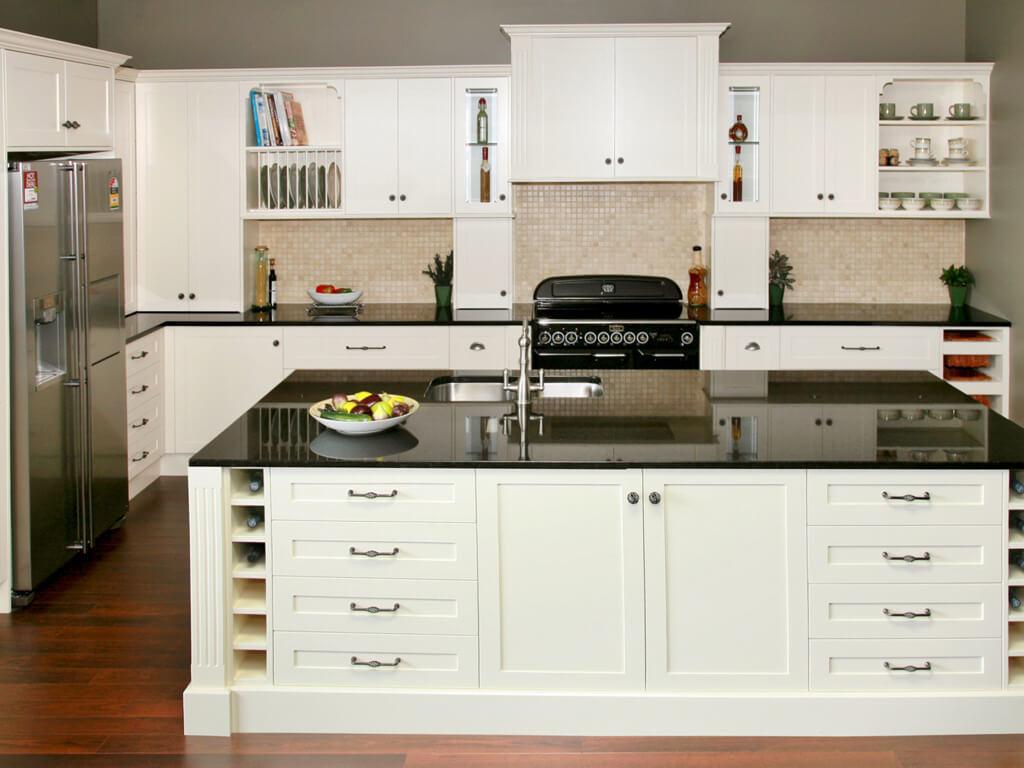 Modern Kitchen Wellington white kitchen shaker kitchen